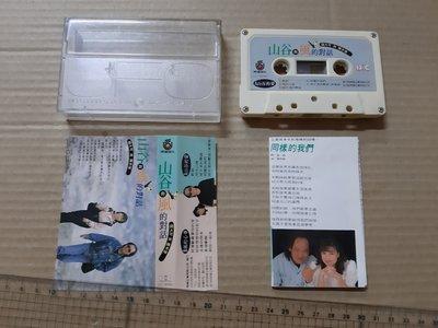 牛罵頭/錄音帶~鈕大可與陳本瑜~山谷與風的對話~有歌詞、原殼~飛碟唱片~一元起標