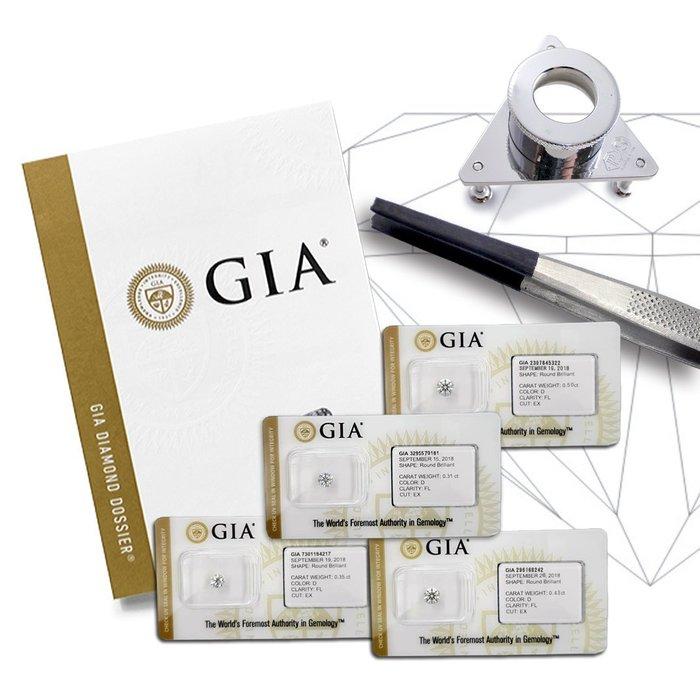 【LOVES鑽石批發】Flawless GIA證書 天然鑽石 31分  D/FL+BID+3EX+H&A+GIA 密封/另售 彩鑽 花式 婚戒
