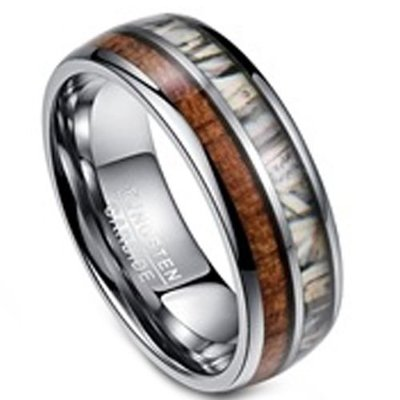 coi jewelry tungsten carbide wedding band ring 戒指 with all sizes