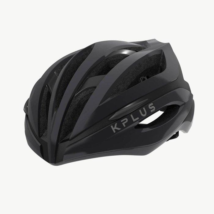 【三鐵共購】【KPLUS】SUREVO S系列一般色公路競速單車安全帽-鈦灰