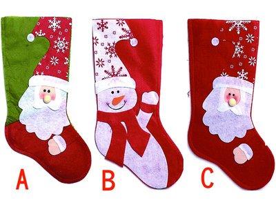 【洋洋小品可愛聖誕老人雪人聖誕襪】聖誕節聖誕飾品聖誕襪聖誕樹聖誕燈聖誕佈置