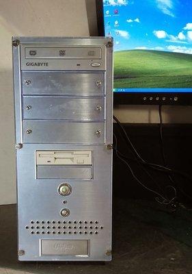 【窮人電腦】跑WinXP系統!自組技嘉P4高階工業主機出清!雙北桃園可親送外縣可寄!