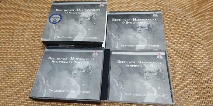 好音悅 Harnoncourt 哈農庫特 Beethoven 貝多芬 交響曲全集 5CD TELDEC 德版 無IFPI