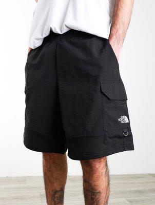 The North Face Steep Tech shell cargo shorts TNF 工裝黑色口袋短褲