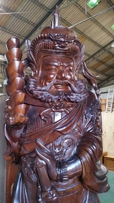 國際二手貨----早期  紅豆杉木雕 ...