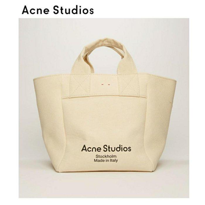 Acne Studios ► ( 米白色 ) 大款 / 帆布包 手提包 托特包|100%全新正品