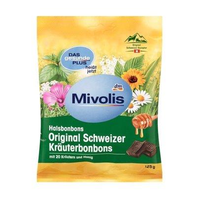 德國 Mivolis 蜂蜜香草喉糖 125g