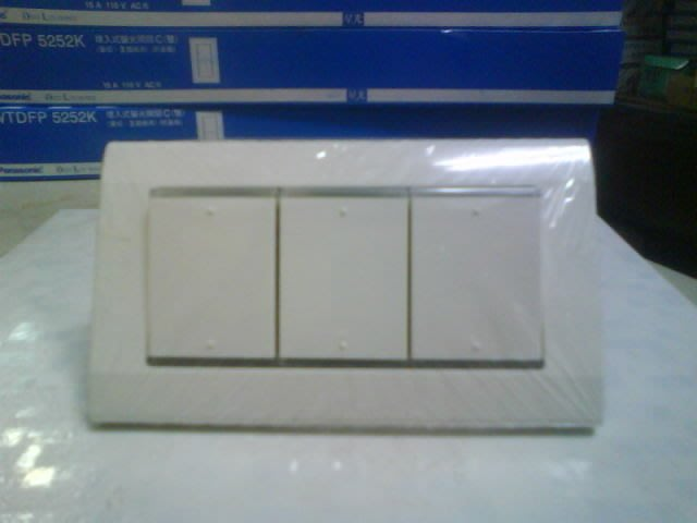 DIY水電材料 WTDFP5352/3開電燈開關/星光開關/國際牌