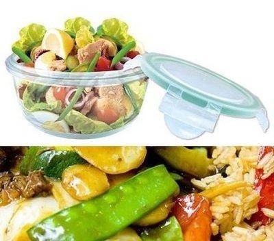 【台製全新】 620ml 保鮮玻璃碗 密扣式玻璃保鮮碗 2006163133
