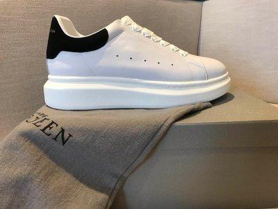 White & Black Oversized Sneakers