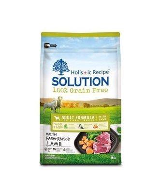 【萬倍富】耐吉斯-Solution 全新超級無穀 成犬羊肉(大顆粒) 7.5KG