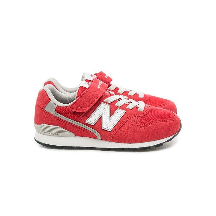 NEW BALANCE 996 中童 紅麂皮 白Logo 魔鬼氈 復古 慢跑鞋 YV996CRD ☆SP☆