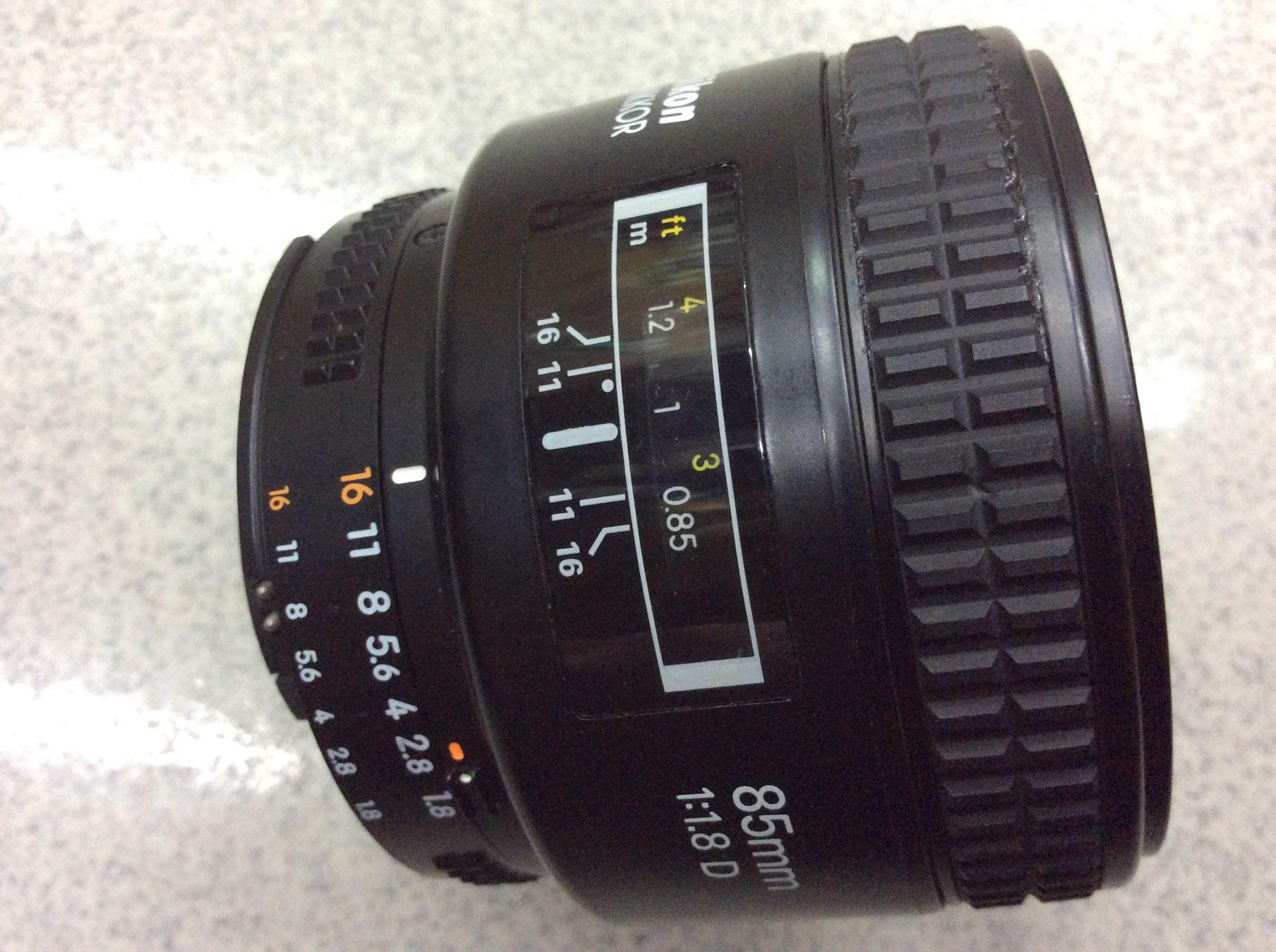 【明豐相機 ][保固一年]  Nikon AF 85mm F1.8 經典大光圈人像鏡頭 便宜賣 105mm