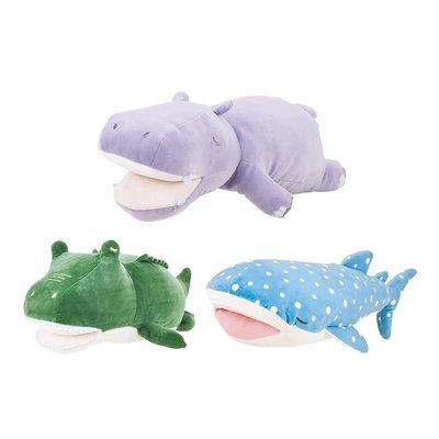 【齊齊精品屋】 LIVHEART河馬抱枕公仔毛絨玩具床上睡覺玩偶抱睡布娃娃生日禮物女H5G6