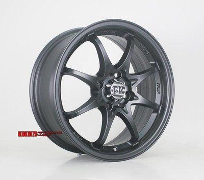【美麗輪胎舘】類RAYS CE28 台灣製輕量化鋁圈 14吋 4孔100 6J ET38 消光黑 4.9KG