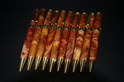 肖楠(越南)釘瘤花原子筆 (非檜木盒、龍柏、牛樟、樟木、紅檜、黃檜、崖柏、文昌筆) /瘤花/閃花