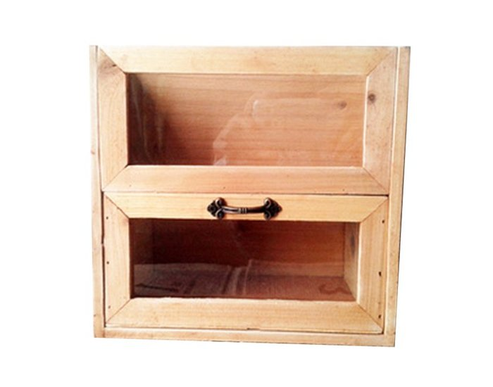 ~誠萍生活家具~ZAKKA日式居家 實木文件收納盒 玻璃櫃 收納架 一抽 置物櫃 文具盒~直購價$490