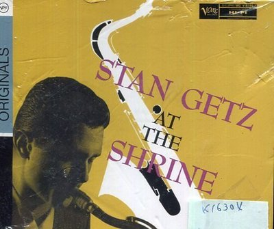 *真音樂* STAN GETZ / AT THE SHRINE 全新 K16304