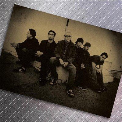 【貼貼屋】聯合公園Linkin Park 懷舊復古 牛皮紙海報 壁貼 店面裝飾 經典電影海報 286