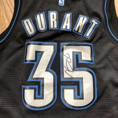 東奧金牌 奧克拉荷馬雷霆隊 Kevin Durant 簽名球衣 籃網 勇士