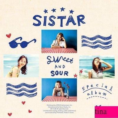 Sistar Special Album - Sweet & Sour 韓國原版特別專輯全新未拆下標即售孝琳寶拉昭宥多順