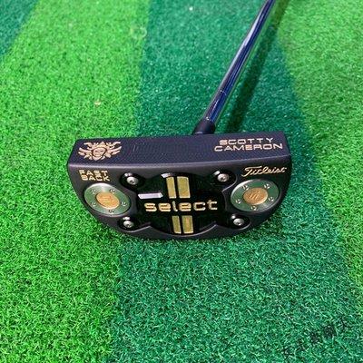 【女王高爾夫】新款Select FASTBACK 半圓中桿黑金色高爾夫推桿 整支CNC