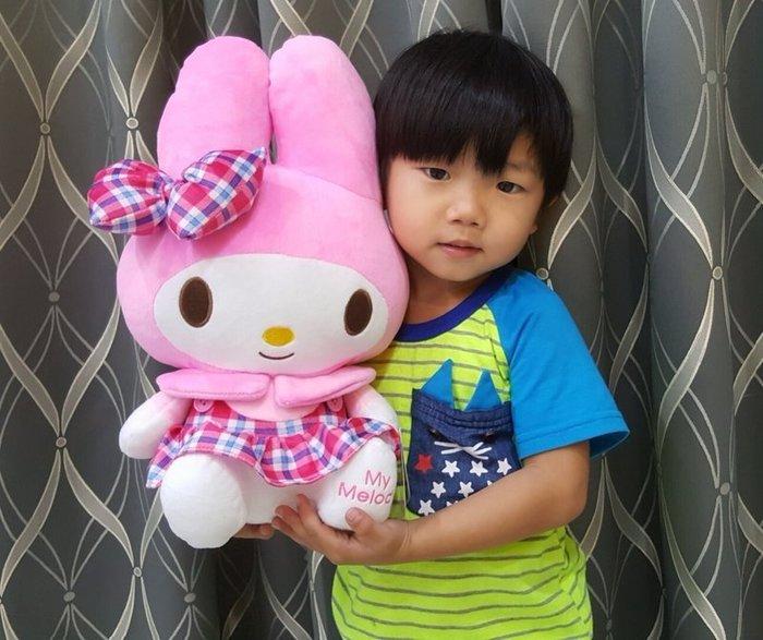 可愛美樂蒂娃娃~美樂蒂玩偶~兔子娃娃~高38公分~熱門商品