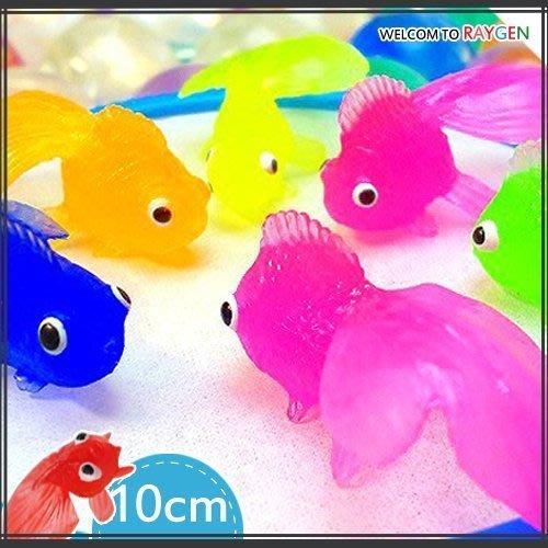 八號倉庫 玩具 日本廟會 夜市 撈魚 遊戲 10CM金魚 單隻【1F300Y075】