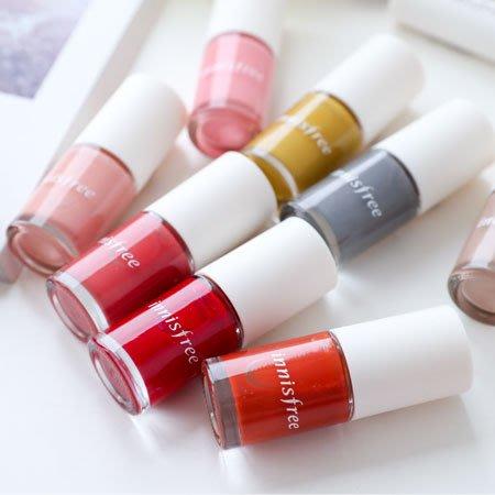 韓國 innisfree 繽紛大地指甲油 6ml 指甲油 裸色 乾燥玫瑰色 Real Color Nail