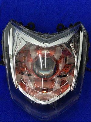 全新四代勁戰 魚眼頭燈 極光鋼鐵魚眼 送HID
