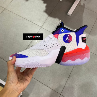 【Simple Shop】NIKE JORDAN REACT ELEVATION 籃球鞋 白藍 男 CK6617-102