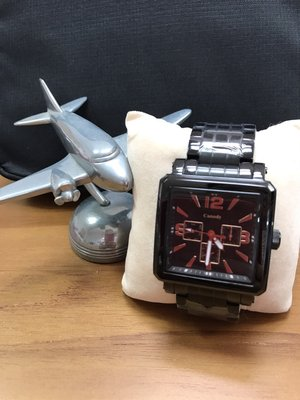 Canody 精品級高級黑武士腕錶(IP黑/玫瑰金)_CG5631-3A驚喜價