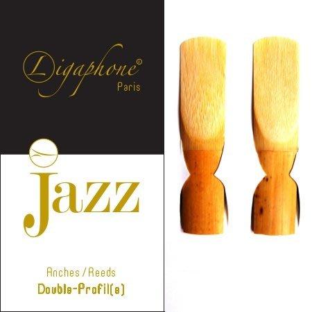 §唐川音樂§【Ligaphone Jazz Double-Profile Alto Sax Reed 中音竹片 2片裝】