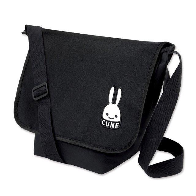 ☆Juicy☆日本雜誌附贈附錄 CUNE 兔子 斜揹包 肩背包 單肩包 側背包 小方包 7228