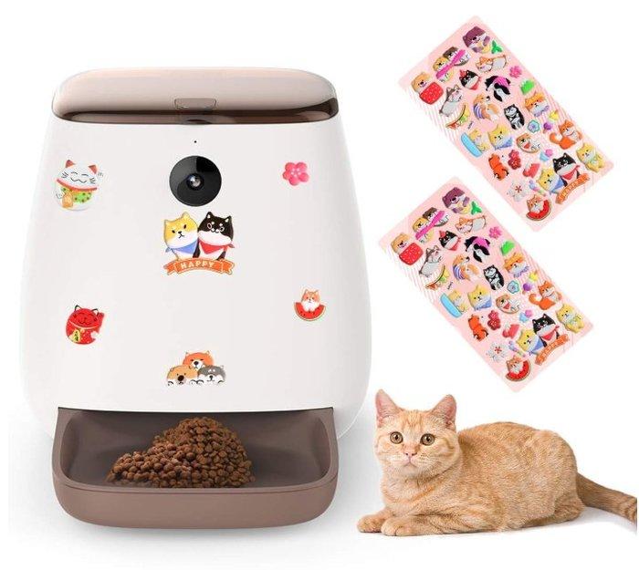 《FOS》日本 Wowcam 自動 寵物 餵食器 監視器 錄影 對話 毛小孩 貓 狗 動物 出國 熱銷 限定 新款