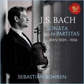 巴哈:小提琴奏鳴曲&組曲BWV1004-1006/賽巴斯汀‧波仁Sebastian Bohren-19075836952