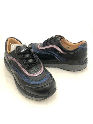 -地之柏  68台灣製造 真皮氣墊  美姿健美鞋  黑色  特價1490元 35~40號