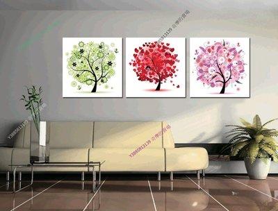【60*60cm】【厚2.5cm】抽象-無框畫裝飾畫版畫客廳簡約家居餐廳臥室牆壁【280101_038】(1套價格)
