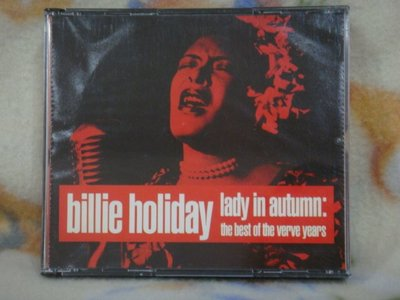 Billie Holiday cd=Lady in Autumn 2cd (1991年發行)