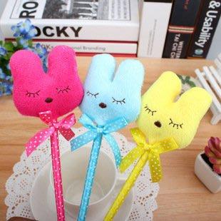 《麥斯樂小舖》小兔/蘋果/小熊筆.毛絨筆.蝴蝶結筆.贈品.禮品.造型筆.藍筆.二次進場.婚禮小物.獎品