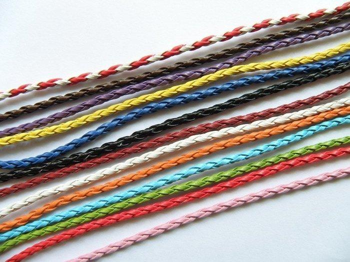《316小舖》【AB10】 (優質手工彩繩-多款顏色彩繩/糖果色皮手鍊/低價彩繩手鍊/皮繩手環手鏈/紅繩手鍊/紅繩項鍊)