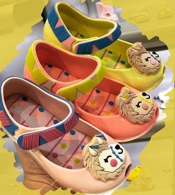 【巴西美鞋代購】 梅麗莎 Mini Melissa 女童羊駝動物款 香香果凍鞋 兒童鞋 學步鞋 女童鞋 娃娃鞋