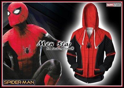 [免運費] 蜘蛛人 離家日 彈力運動外套 連帽外套 衣服 服裝 角色扮演 COSPLAY 復仇者聯盟4 終局之戰 量子衣 量子領域 spiderman 服飾道具