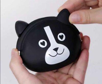Osmileooo-可愛小黑貓硅膠零錢包 散銀包 收納包