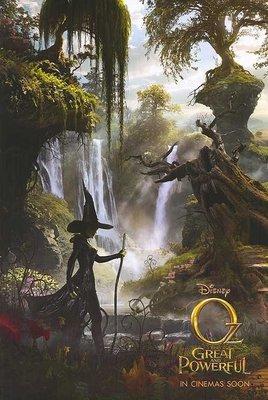 奧茲大帝 ( Oz: The Great and Powerful ) - 美國原版雙面電影海報 (2013年預告版2)