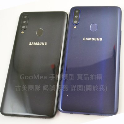 GooMea模型 4免運原裝黑屏Samsung三星 A20s 6.5吋展示dummy摔機整人假機仿製交差網拍1:1拍戲