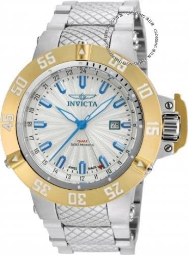 展示品 Invicta 21729 50mm Subaqua Noma III Swiss Quartz GMT Date Bracelet Mens