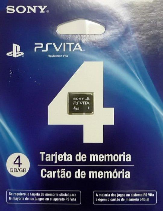 SONY PS Vita PSV PSVITA 4G記憶卡(4GB) 原廠平輸貨【台中恐龍電玩】