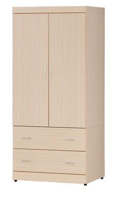 【南洋風休閒傢俱】精選時尚衣櫥 衣櫃 置物櫃 拉門櫃 造型櫃設計櫃- 白橡無敵3*6尺衣櫃 CY28-36