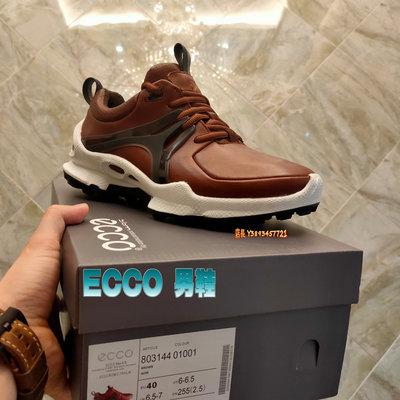 正貨ECCO BIOM C-TRAIL縱橫越野戶外鞋 男士運動登山鞋 ECCO健步鞋 動能回彈 緩震穩定 803144